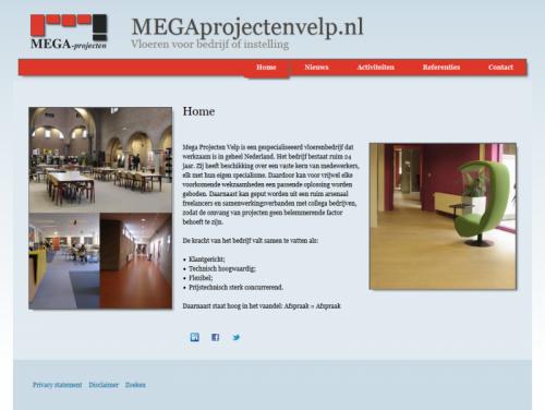 Voorpagina megaprojectenvelp.nl
