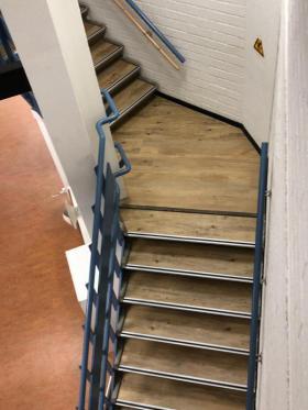 PVC stroken trap