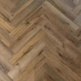 Visgraat: PVC stroken Ambiance Spigato Dark Oak